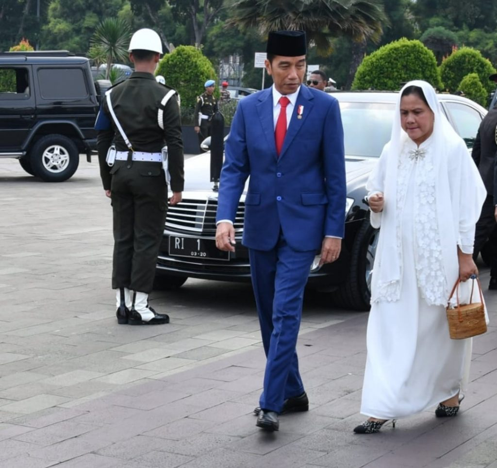 Jokowi: Idul Fitri Momen Pererat Persatuan Dan